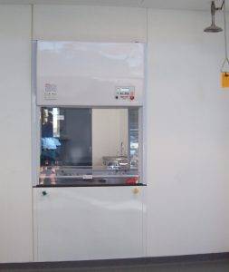 Dynaflow DSCH - Double Sided Fume Hood ISLAMIC SCHOOL by dynaflow