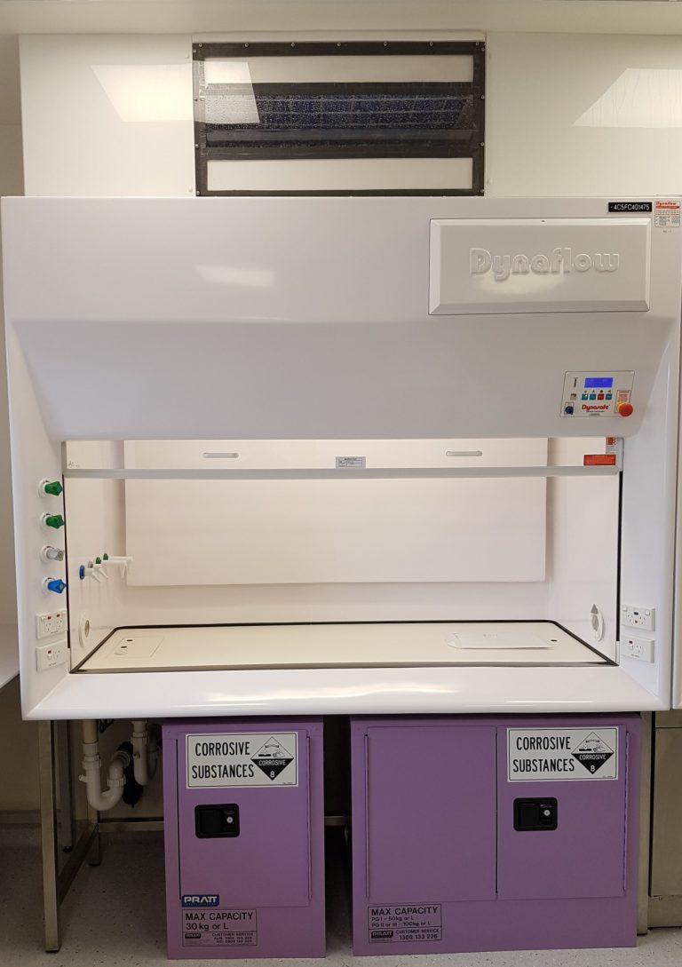 Dynaflow Corrosive cabinet under1
