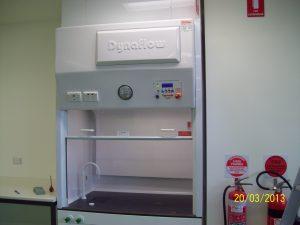 Canberra University Fume Hood equipment