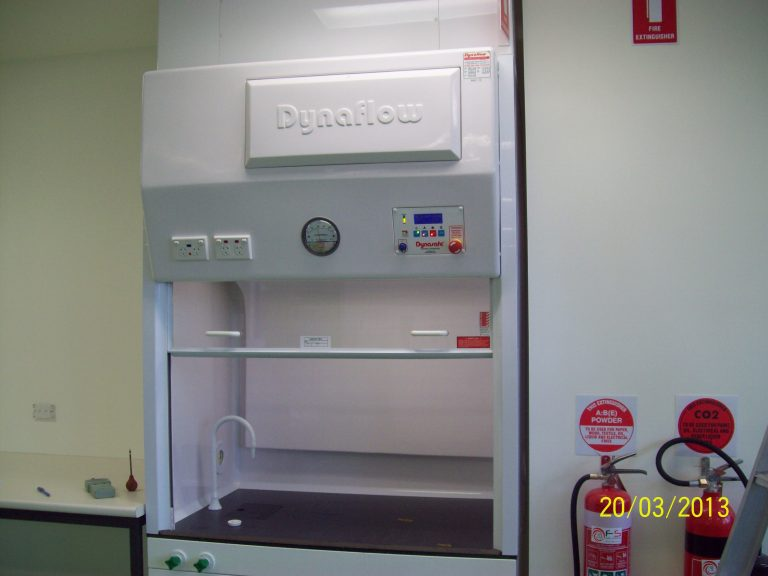 Canberra University Fume Hood equipment