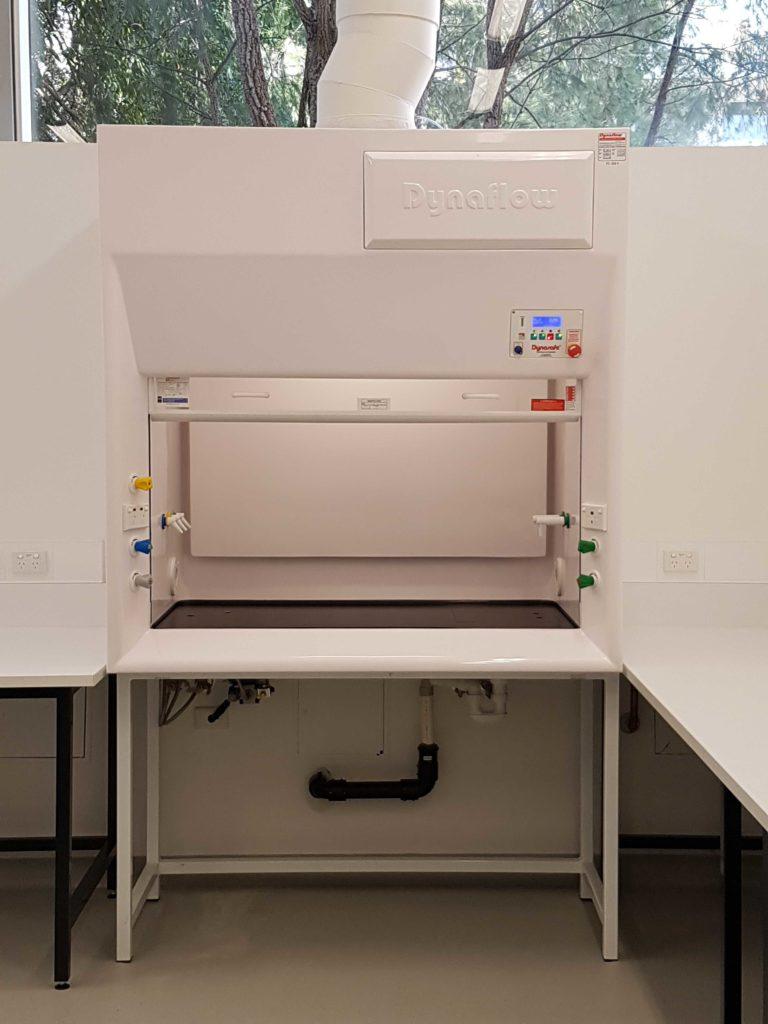 Dynaflow Fume Cupboard 1500GRP