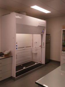 Dynaflow Fume Cupboard WIN (walk in)