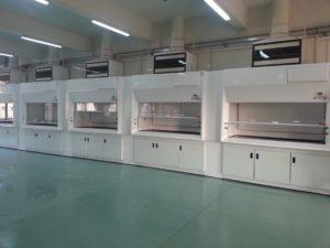 Dynaflow ME600 & ME900 ducted fume cupboard