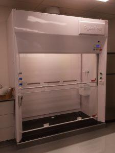 20160114_104956 fume cupboard installation dynaflow