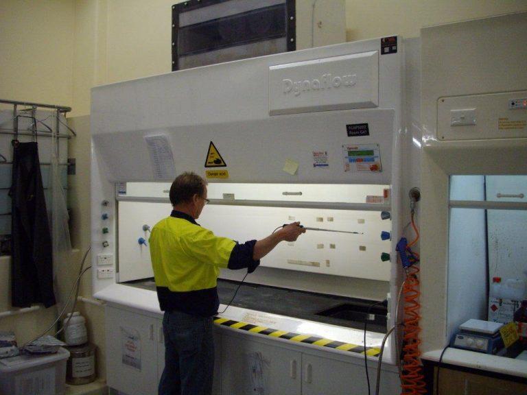 Fume Cupboard Testing & Maintenance