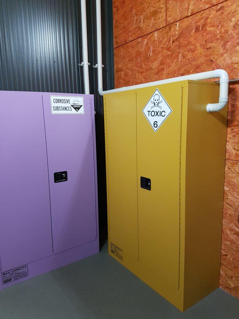Storage cabinet Venting Dynaflow Fume Cupboard