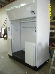 WALKIN Cupboard with White Laminate doors